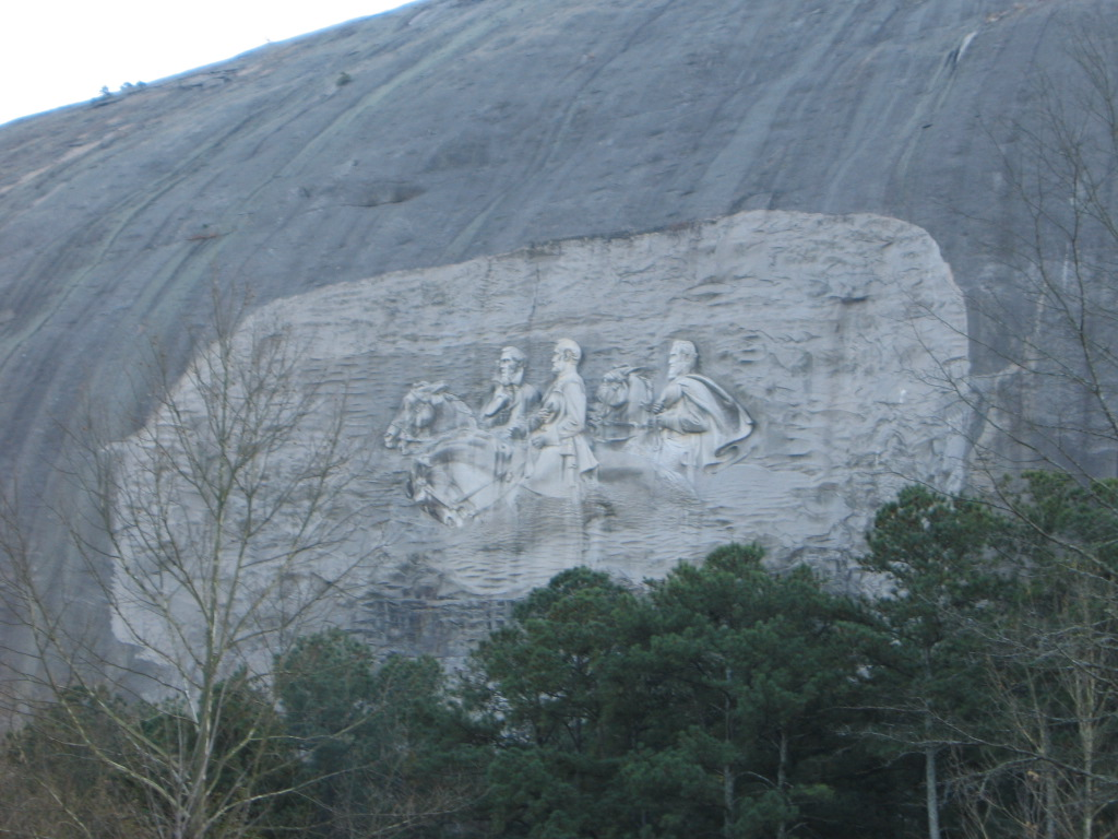 Stone mountain carving pics learning