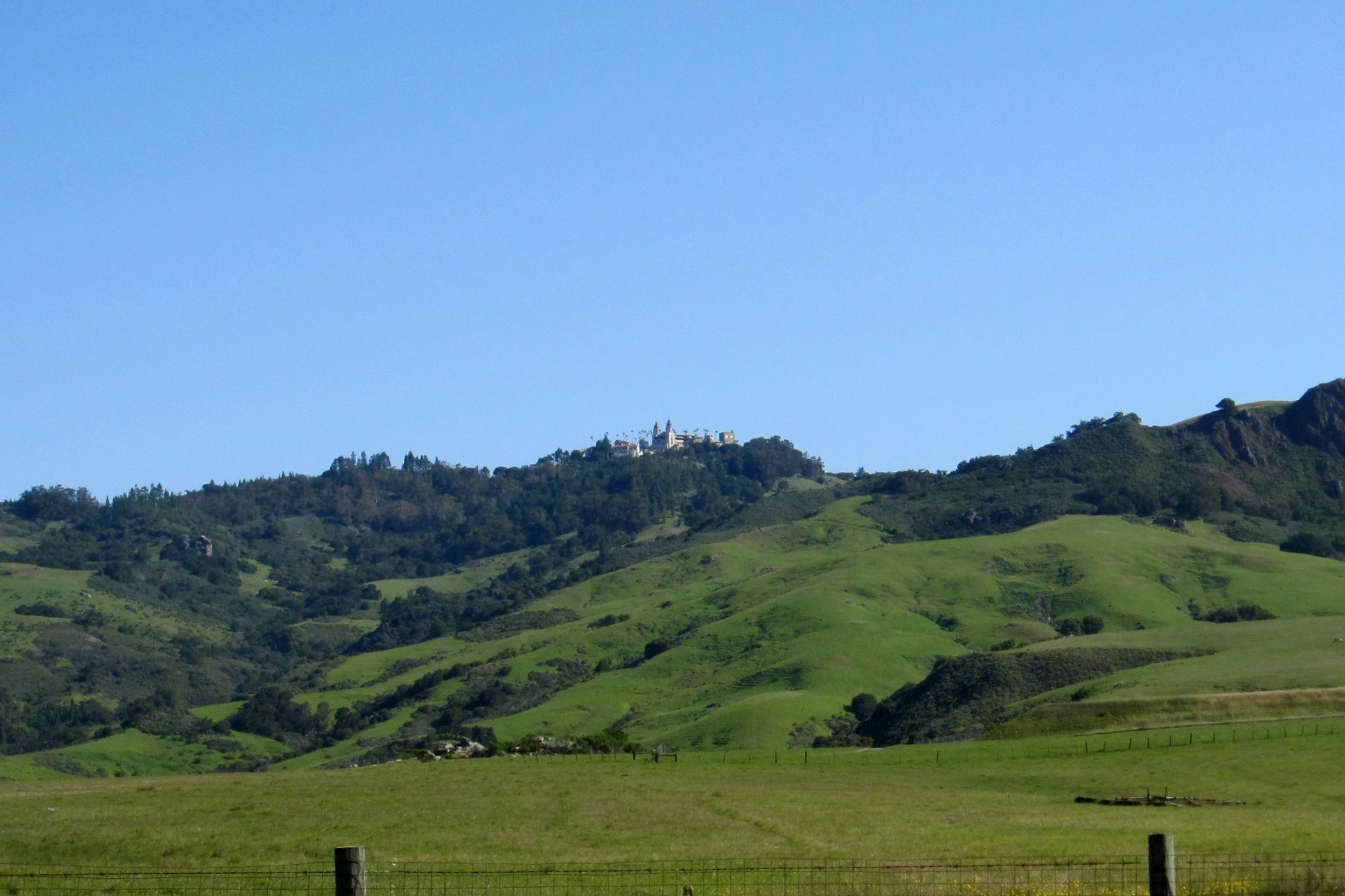 Hearst Castle in San Simeon