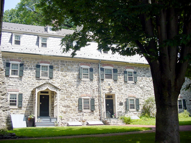 Bell House, Built In 1745   Part Of The Original Moravian Settlement