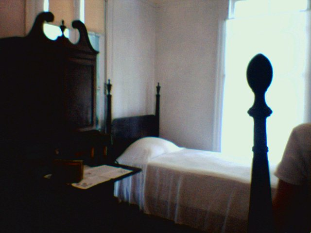 2nd Floor bedroom at Chinsegut Manor House