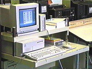 Computer on a cart