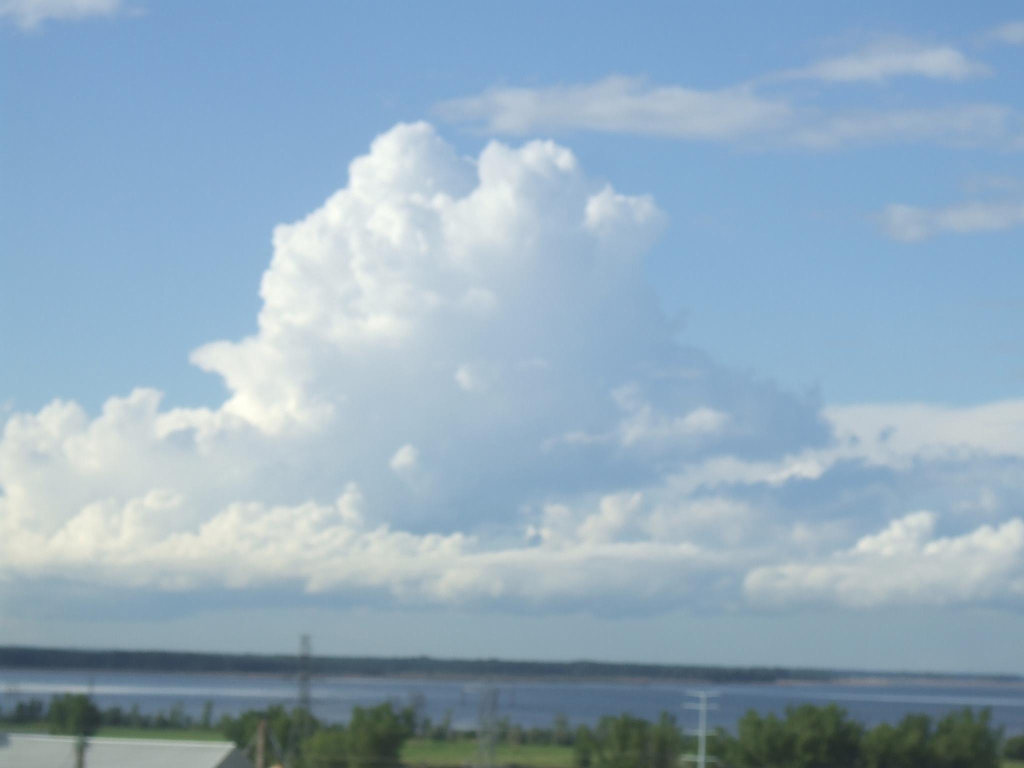 thunderhead clouds wallpaper - photo #14