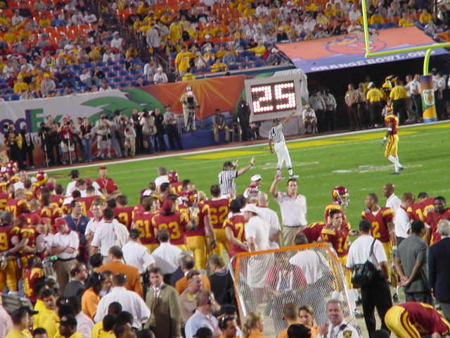 gameshot.jpg - BCS Football championship game