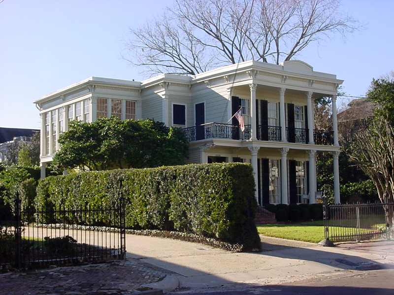 Grand Home in the Garden District