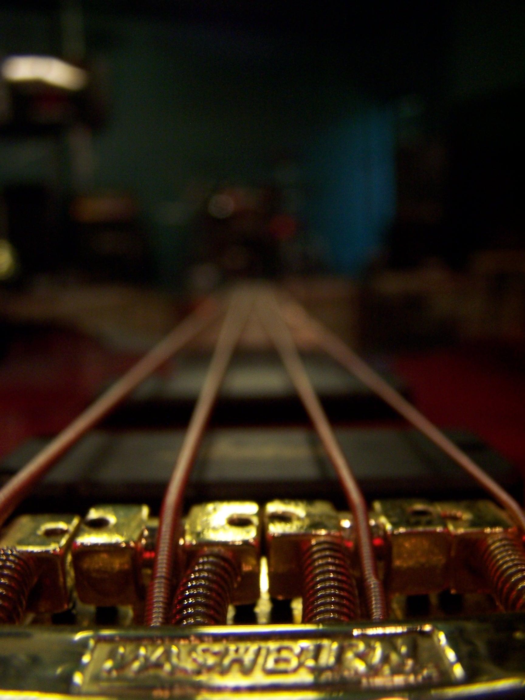 guitarstrings1255.jpg - Guitar Strings and bridge
