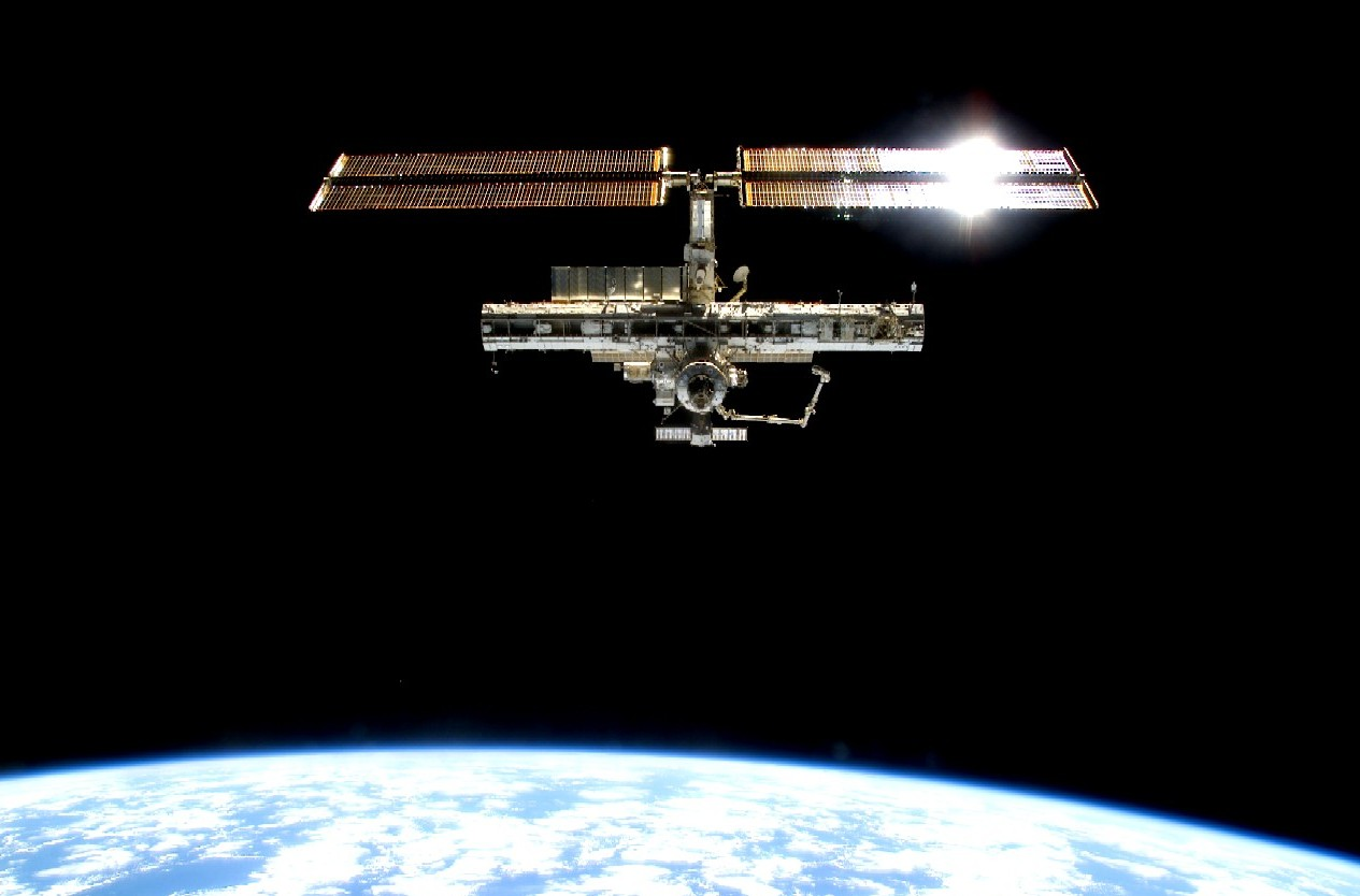 internationalspacestation.jpg - A view of the International Space Station as seen from the space shuttle Endeavour.