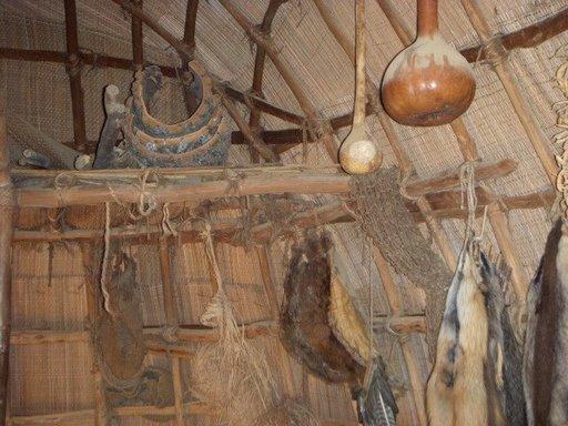 Powhatan Village Longhouse