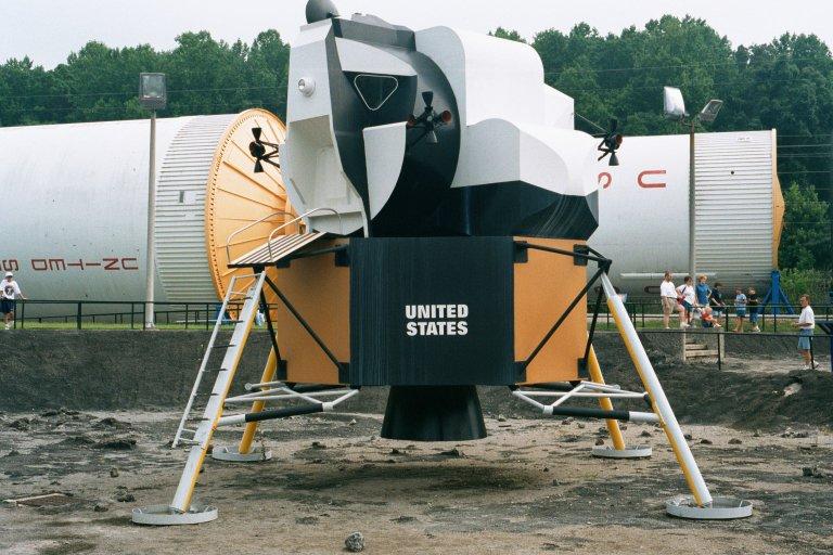 Aerospace rocket scale model