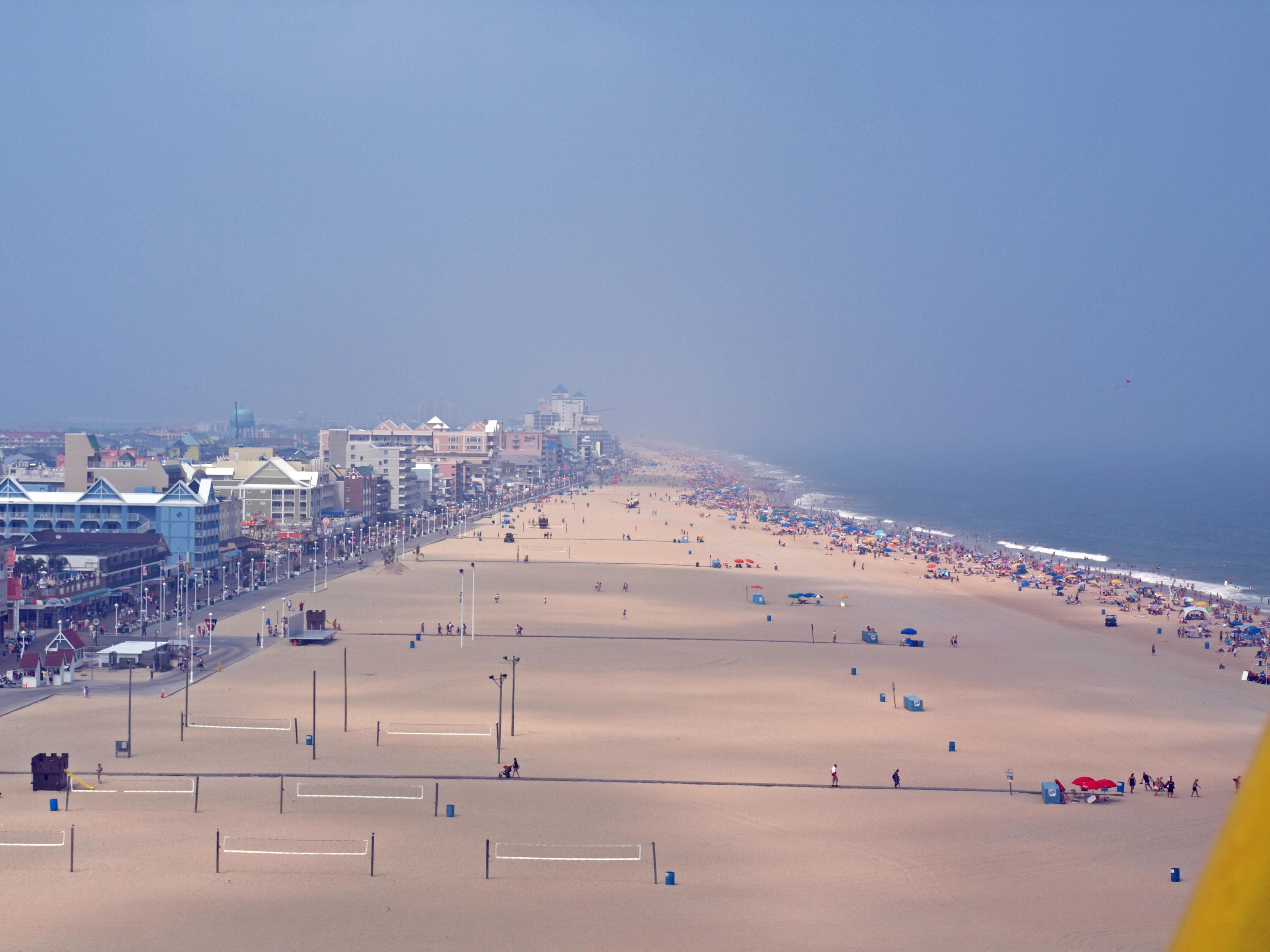 ncbeachview.jpg - View of Ocean City, Maryland
