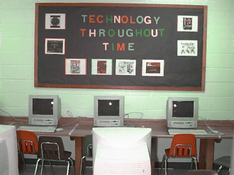 Elementary school computer lab in central Florida