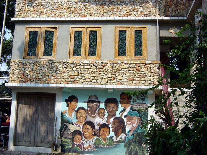 Mayan Home in Punta Gorda
