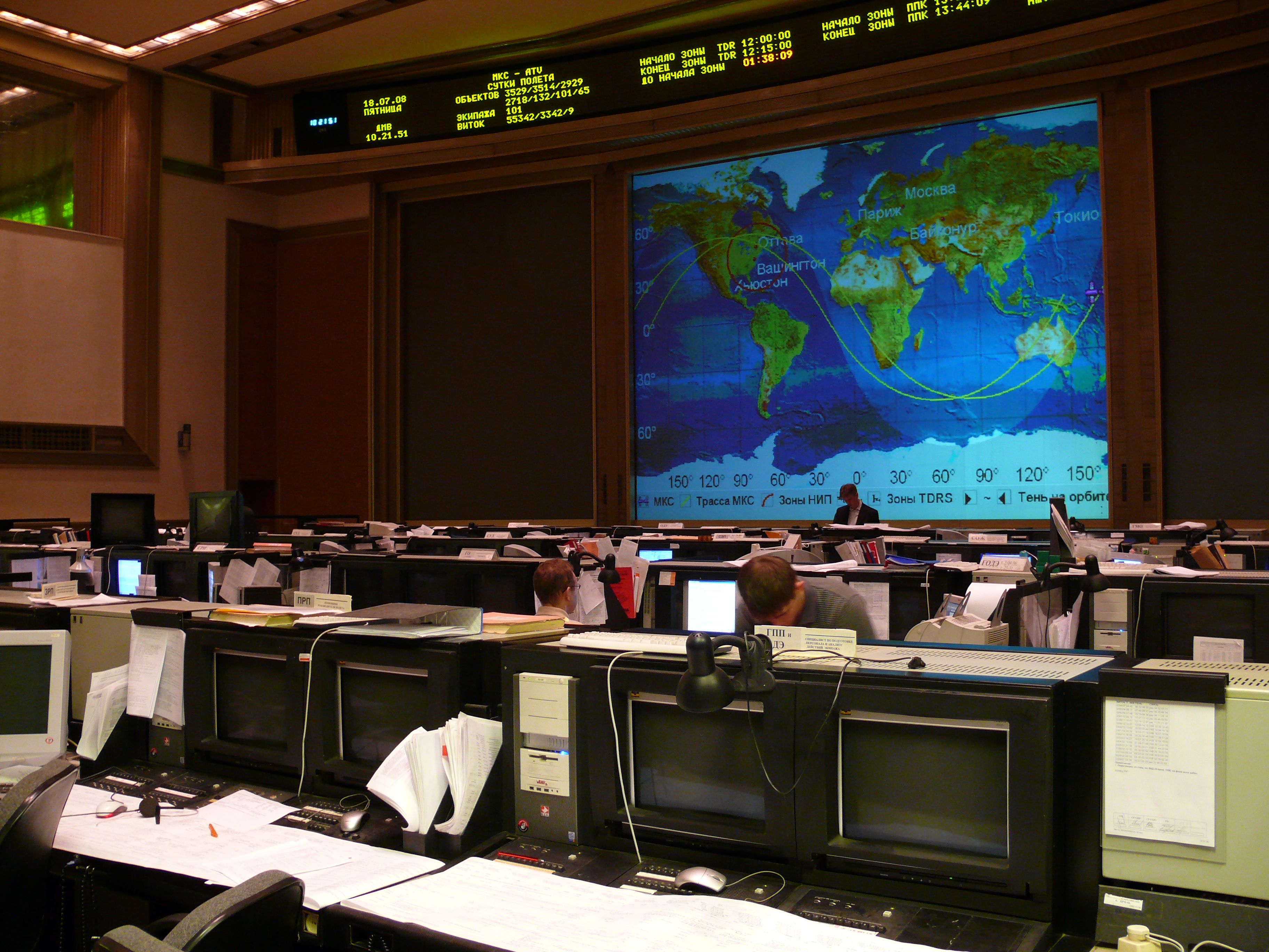 Russian Mission Control Center (MCC-M) for the ...