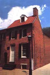 Baltimore Poe House as it appears today