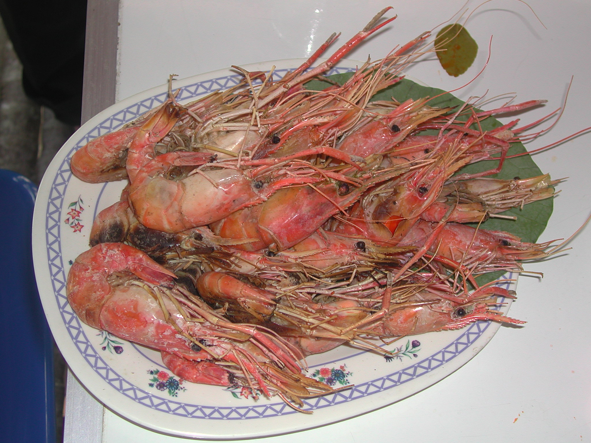 how to prepare cooked prawns
