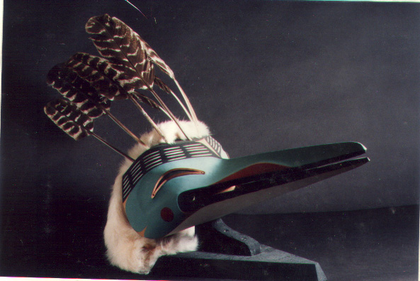 Northern Mosquito by George Hunt Jr. (Kwaguilth Band of the Nwakiutl Nation)