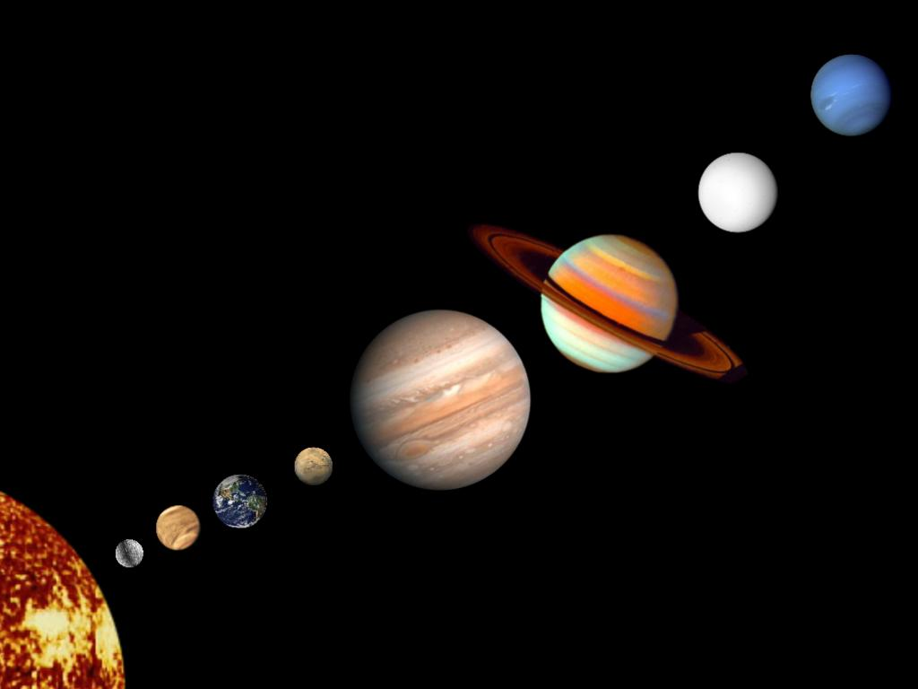 space planets without - photo #9