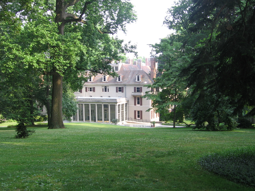Dupont 39 s home at winterthur now the museum pics4learning for Dupont house