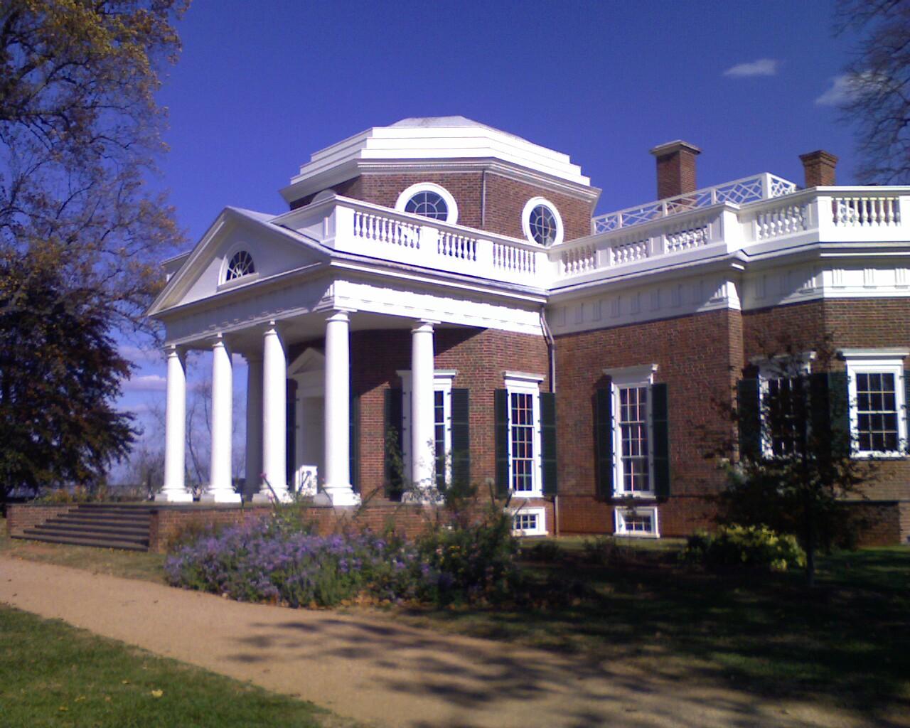 Monticello Plantation Of Thomas Jefferson Pics4learning
