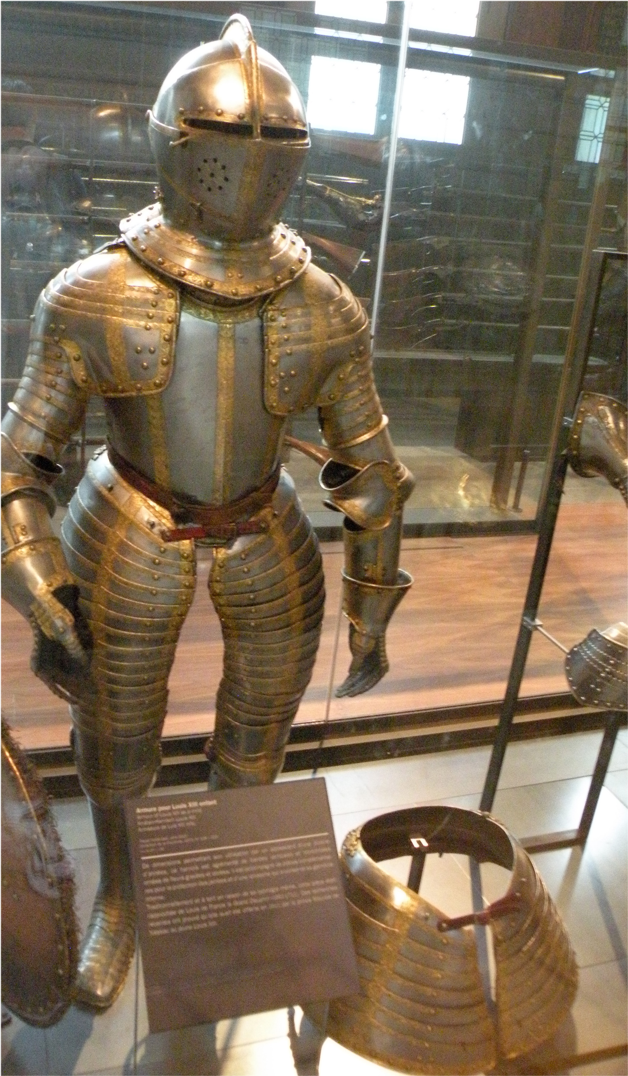 armour of king louis xiv of france youth pics4learning