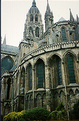 Notre Dame de Bayeux Cathedral in Bayeux, France