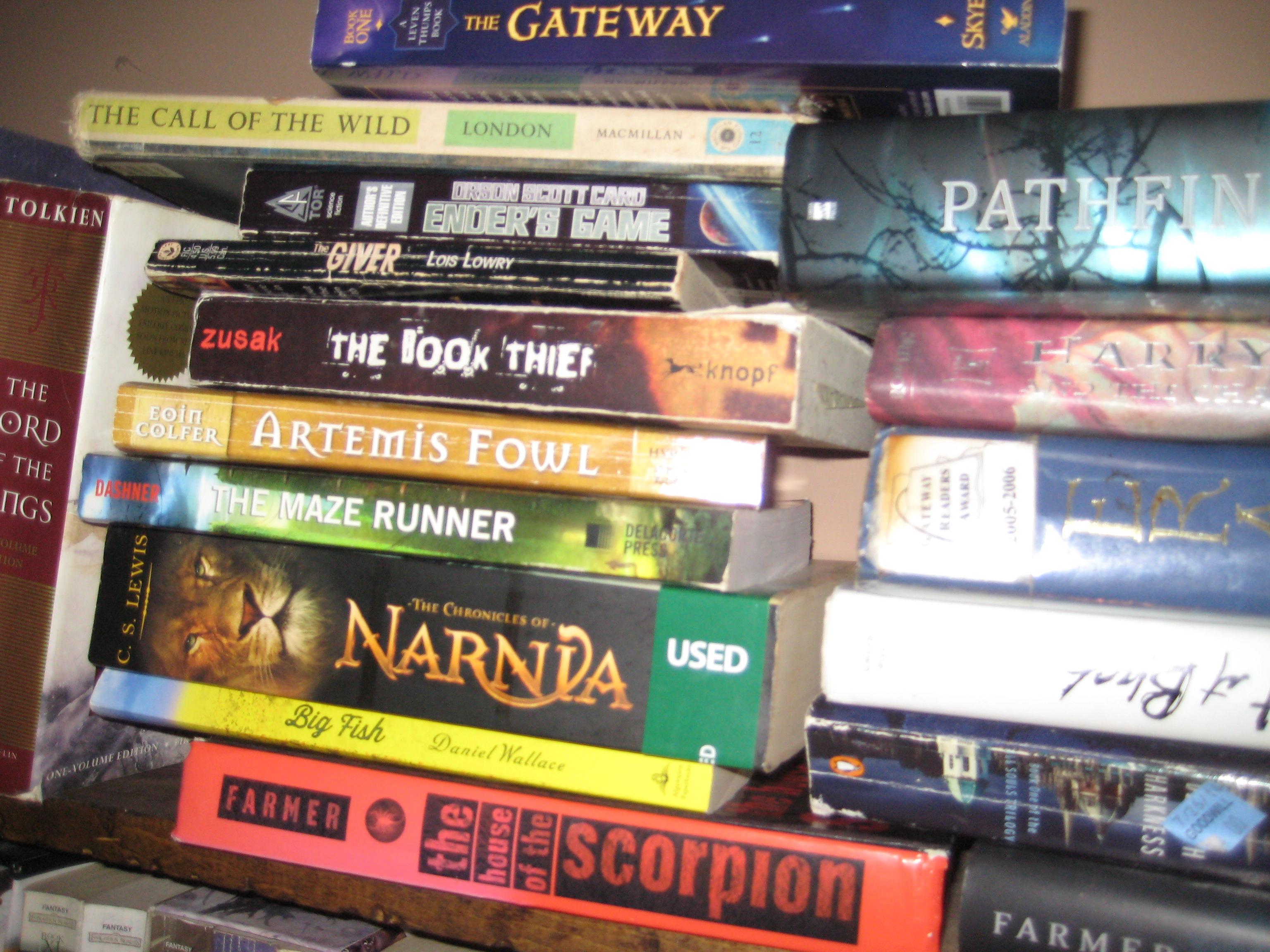 books123456.jpg - My favorite books
