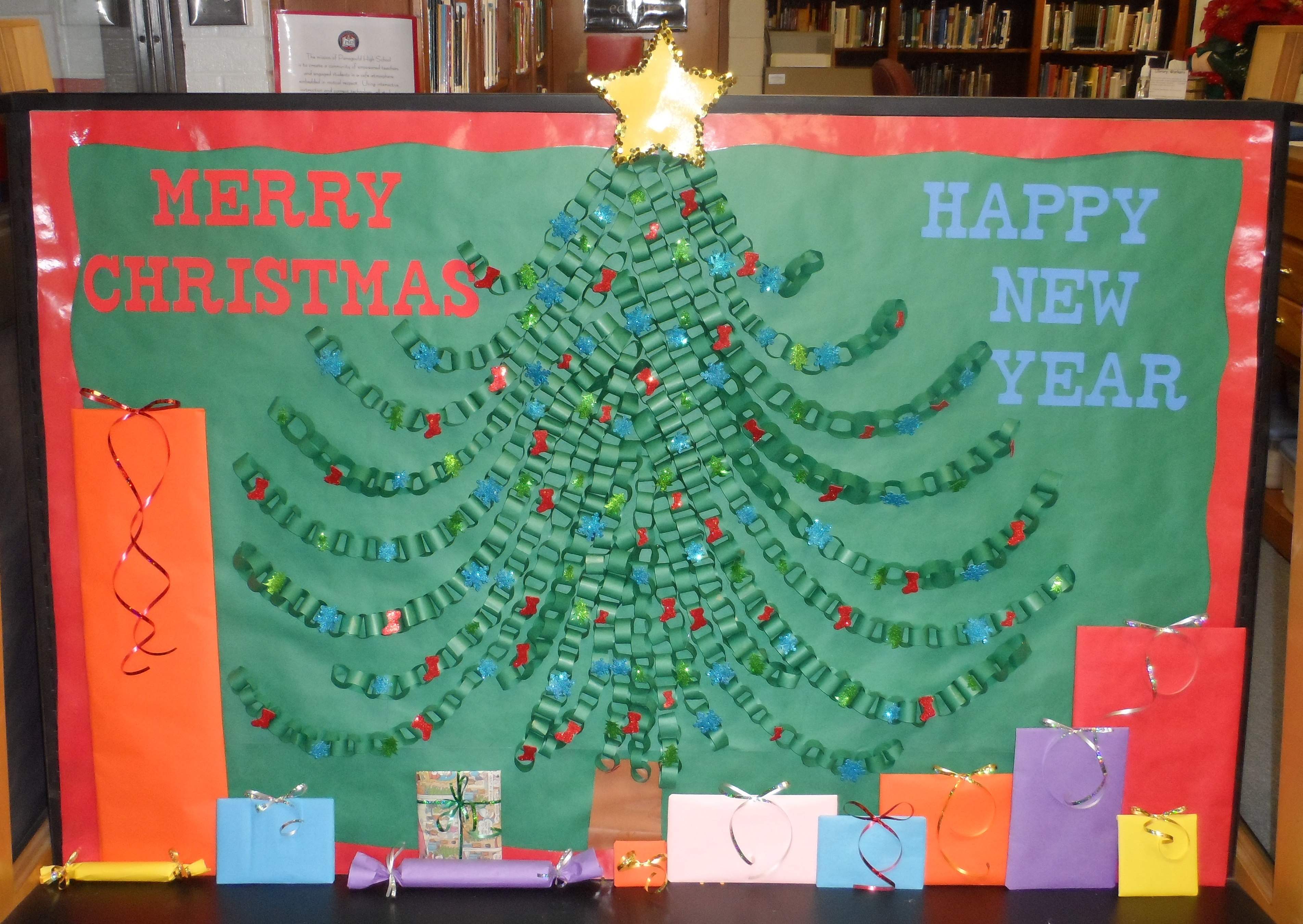 Happy New Year Bulletin Board Ideas 79
