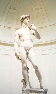 Galleria Dell 'Academia - David by Michelangelo