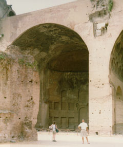 Basilica of Constantine and Maventius