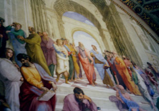 School of Athens in the Vatica Museum