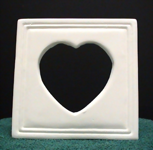 heart30.jpg - Ceramic heart picture frame