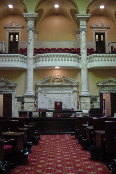 Maryland Senate Chamber in the Capitol   Pics4Learning
