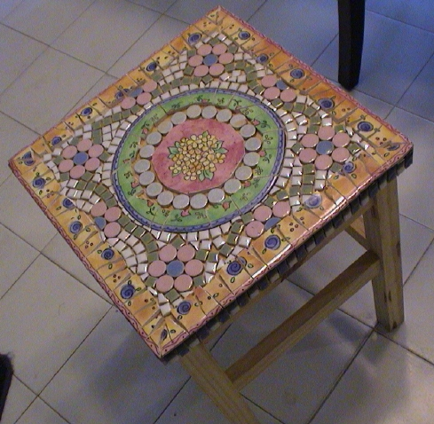 Small Mosaic Table Pics4learning