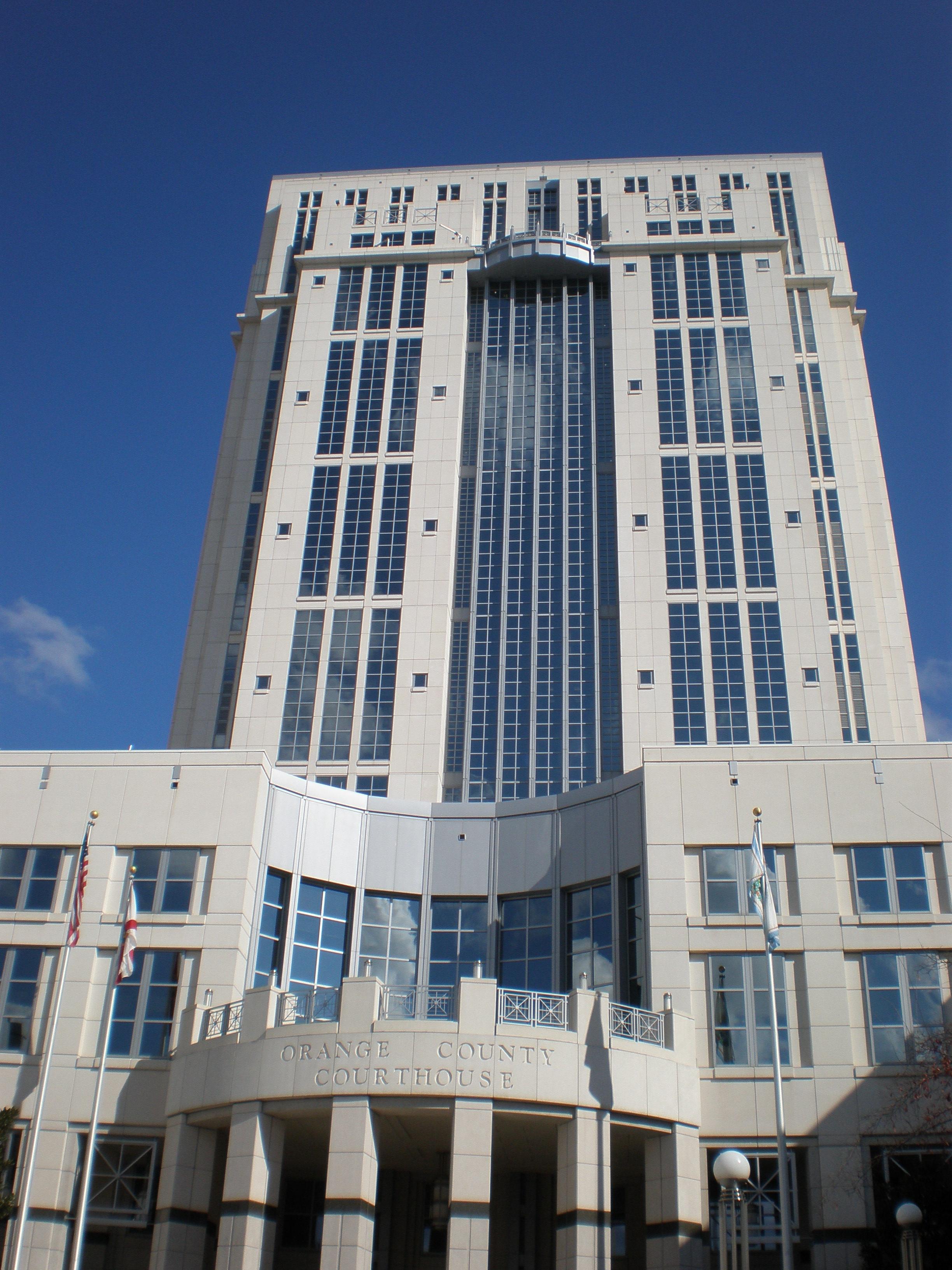 Orange county florida courthouse pics4learning - Orange county clerk s office ...
