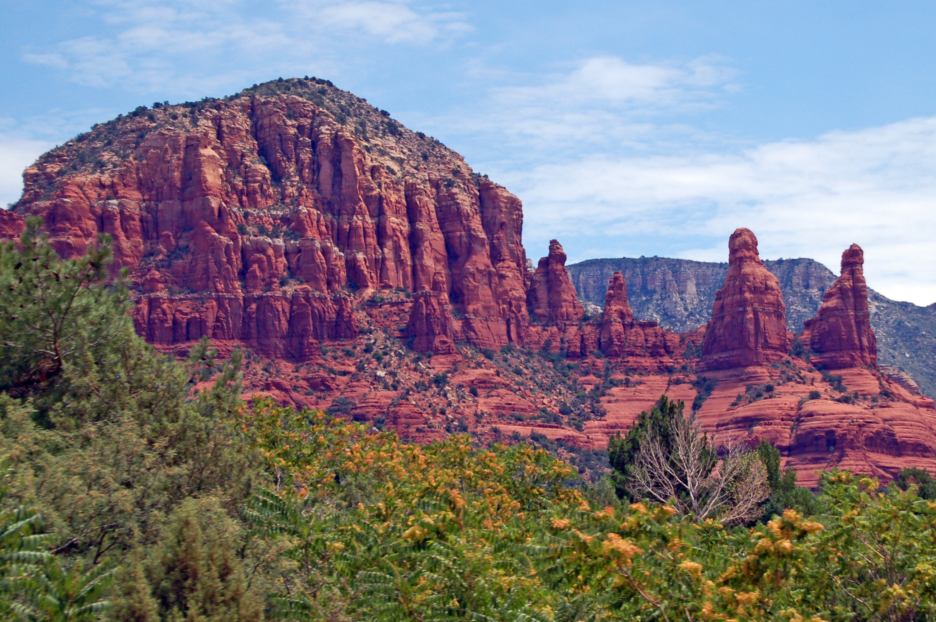 red rock formation in sedona arizona pics4learning