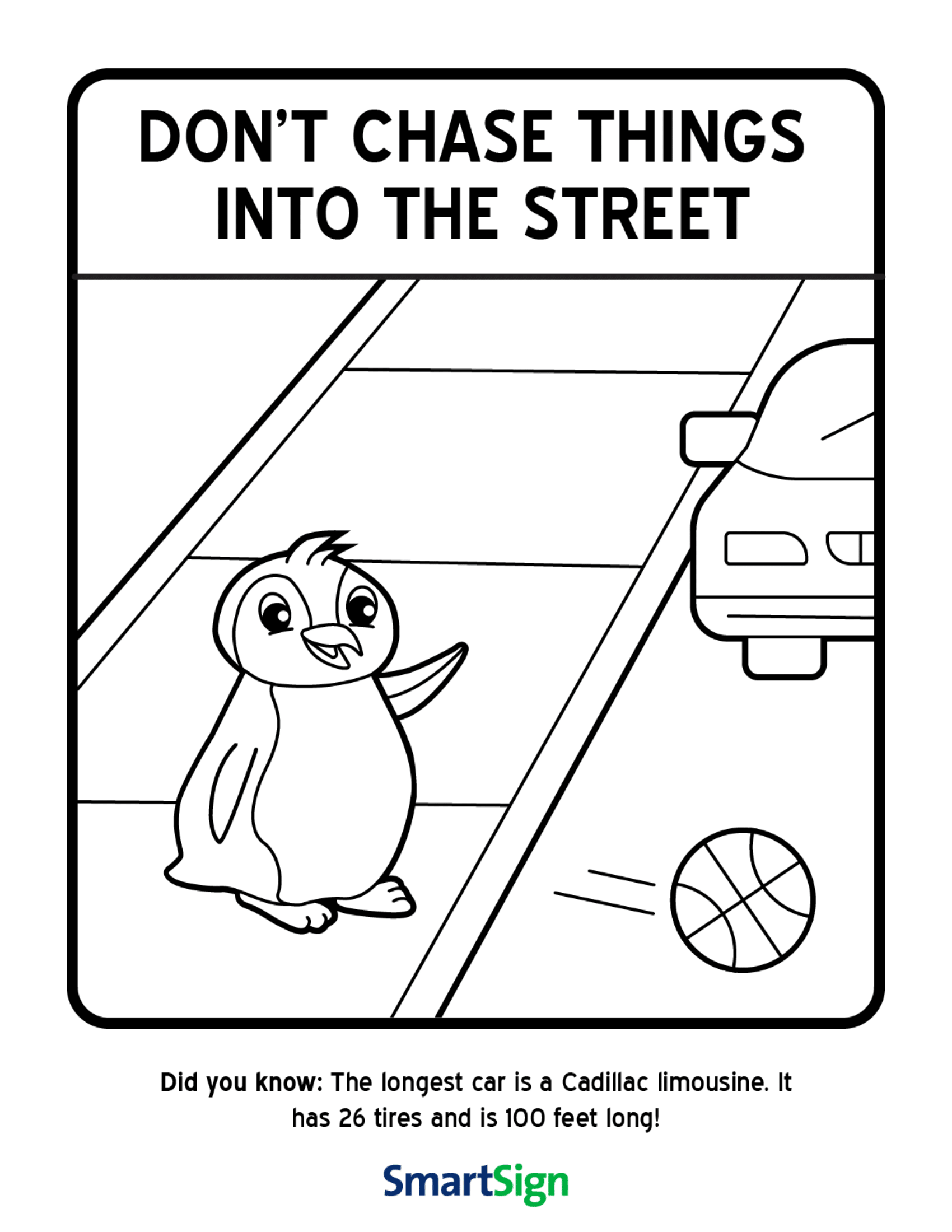 safety signs coloring pages - photo#22
