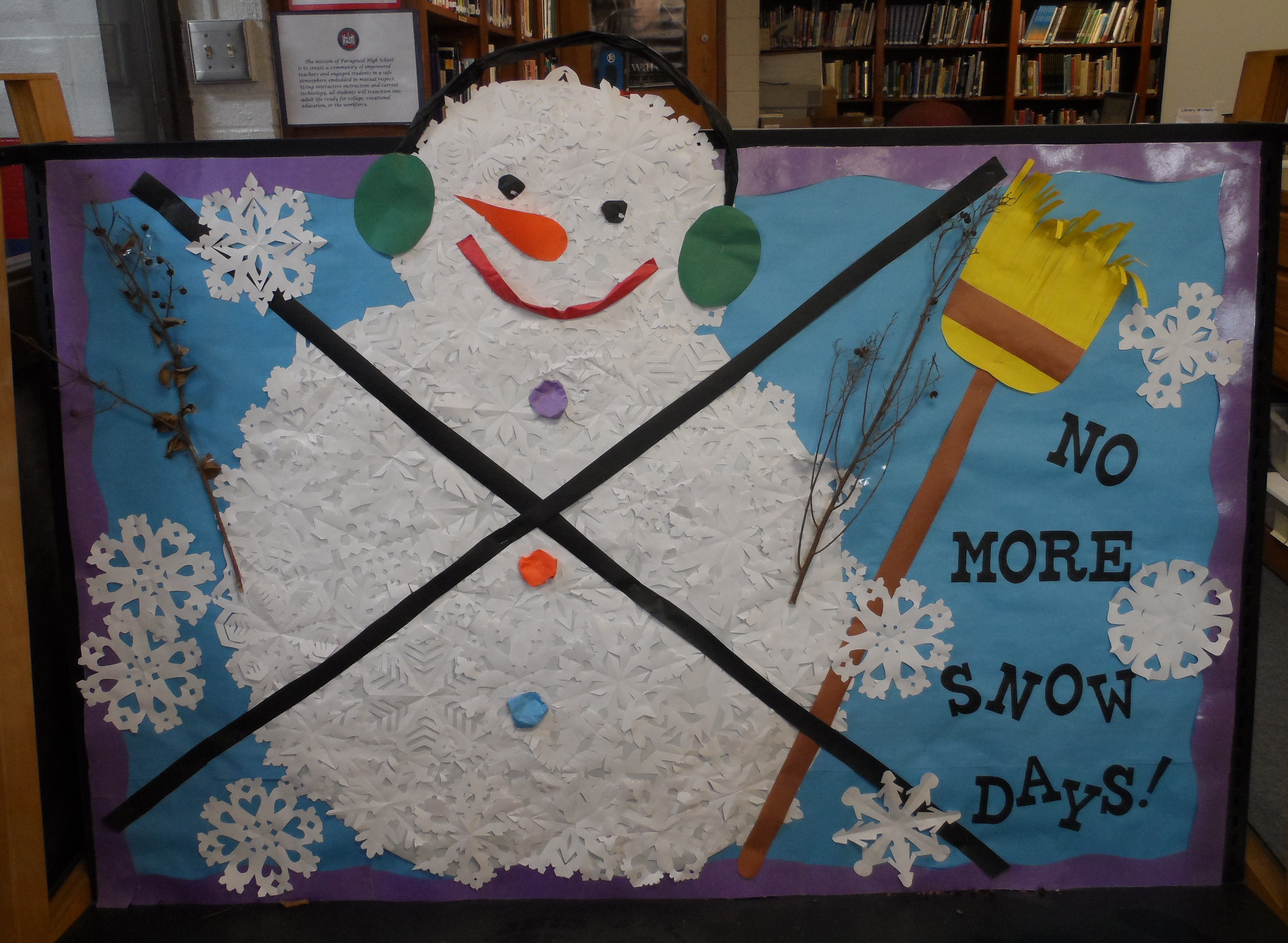 No More Snow Days Bulletin Board Pics4learning