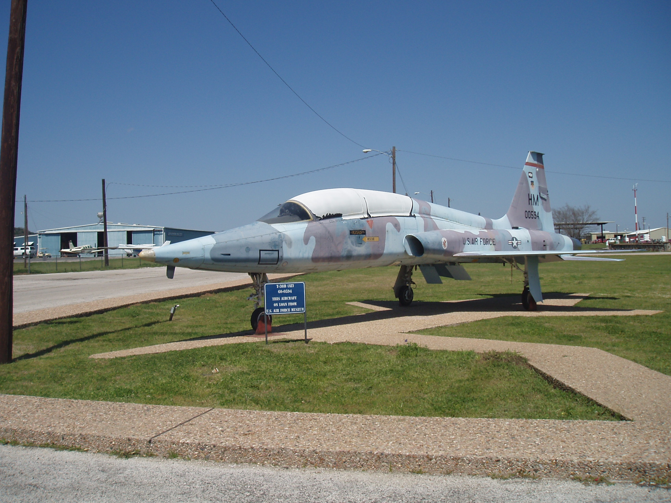 T38B antique aircraft | Pics4Learning