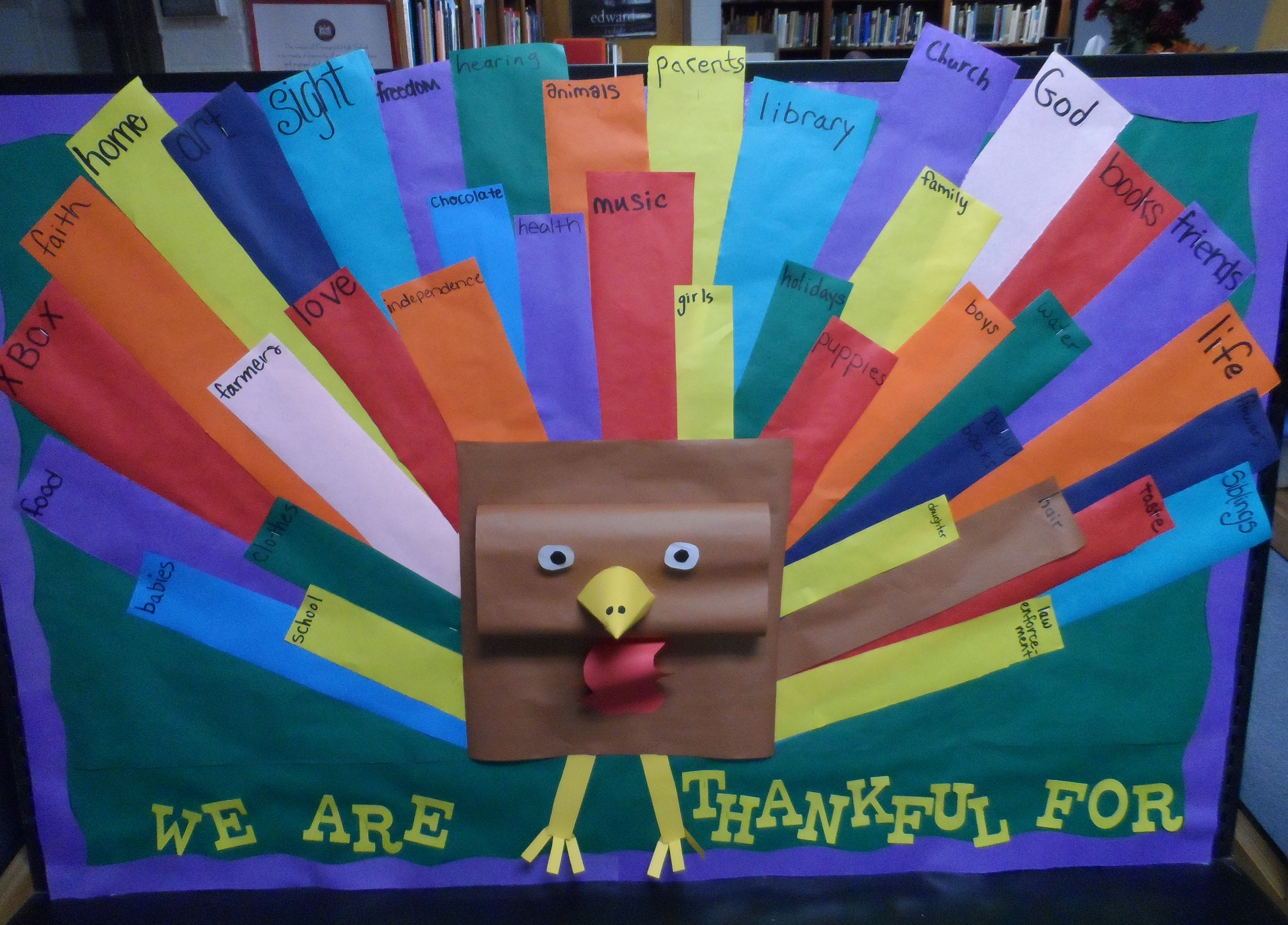 superb Thanksgiving Bulletin Boards For Church Part - 15: thanksgivingbulletinboard.jpg - Thanksgiving Bulletin Board